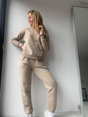 Kylie sweatpants beige