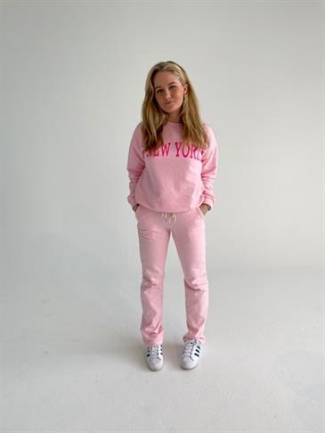 College sweatpants - Pink